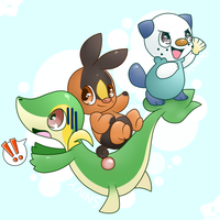 : The Unova Trio : by ToxiicClaws