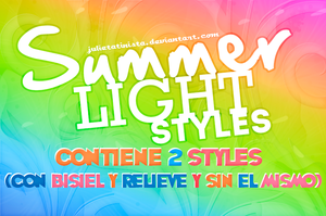 Styles Summer Lights by LightAdiction