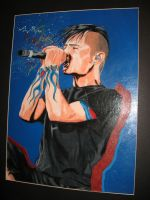 Chester Bennington by processofdying