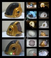 Daft Punk - Guy-Manuel Mask by Chicken008