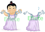 Babydow Dress Design by Eflete