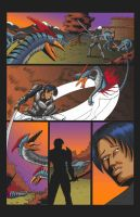 Monster Hunter page 1 color by LLMachine