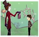 Willy Wonka and Charlie by Amion-Hacker