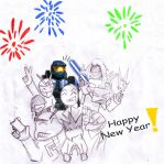 Happy New Year 2009 by Unit-076