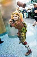 Post Apocalyptic Harley Quinn Comikaze 2013 by DiaryofADoll