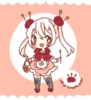 Adoptable Auction - Pin Cushion {Closed} by Rerotro