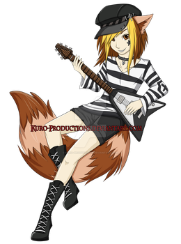 Cherry and his Guitar by Kuro-Productions