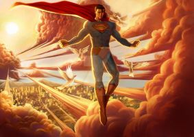 Superman-Peace Of Earth. by Startedengine