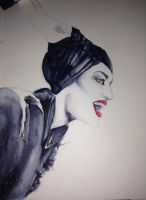 Maleficent  WIP by EdithSparrow