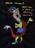 Discord Bag Embroidery by GothyBeans
