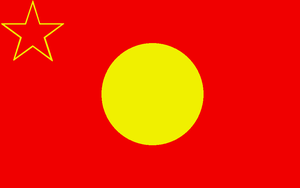 Flag of the People's Republic of Tibet by ramones1986