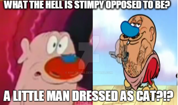 Ren and Stimpy APC Meme by TheMarshmallowBunnyX