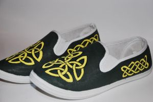 Celtic Shoes by Illicit-Diamonds