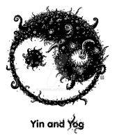 Yin and Yog by tegehel