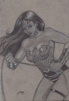 Wonder Woman Sketch by em-scribbles