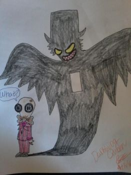 Mr. Gosh's Shadow's a Babadook! by WardenDarkwingArtist