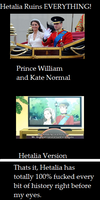 Hetalia beautiful World- Prince William and Kate by peppermix14