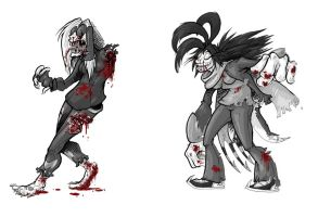 DevDead: Zombie Walk by wildragon