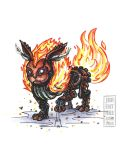 Steam-Powered Pokemon: Flareon by jbrenthill