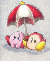 Under the Rain by kirby-kaabii