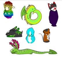 Animal Adopts by The-Animal-Pound