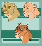 Adoptable Felines (1/3 OPEN) by lalupine