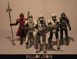Steam Wars: Shocktroopers by sillof