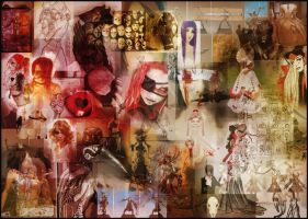 Red Queen Moodboard by Cique