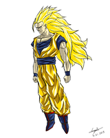 Super Saiyan 3 by cyril002