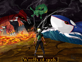 Twitch Plays Pokemon: Wrath of gods by cdblue