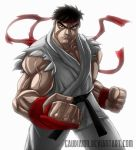 Tough Guy Ryu by gaudiamo