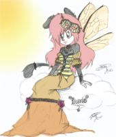Buzzie colored by Aemiliia