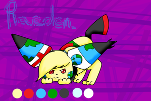 Earthlings - Raeden quick ref by Amelie-The-Pixie