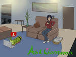Ask that Green bug digimon from Season 2 by CharlotteTurner