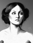 Greyscale Study/Practice - Ingrid Boulting by Kalloway
