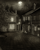 Fell's Point -Autumn-old movies by BlackDragynStock