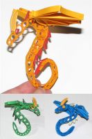 Dragons - Quilling by dragaodepapel