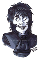 Quick Sketch: Noel Fielding by DIN0LICH