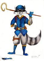 Sly Cooper the Raccoon by FairytalesArtist