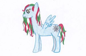 Christmas pony by Ariah101