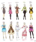 Various female clothes by meago