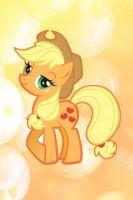 Applejack iPhone Wallpaper by Serendipity37