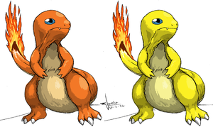 Charmander by absoluteweapon