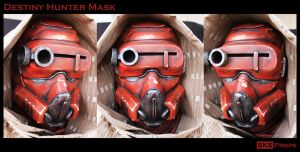 Destiny Hunter Cosplay Mask Complete by SKSProps