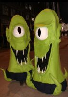 2008 Kang and Kodos by Halloweeners