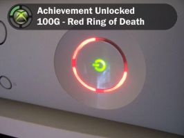 Red Ring of Death by icanhasachievement