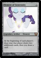 MLP_FiM_MTG-ElementofGenerosty by pegasusBrohoof