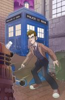 Dr Who by Bloodzilla-Billy