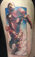 ironman....!! by madcreature