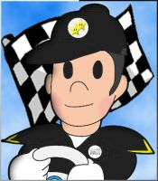 Mario Kart Mii License Picture by Yoshistar-Baxter